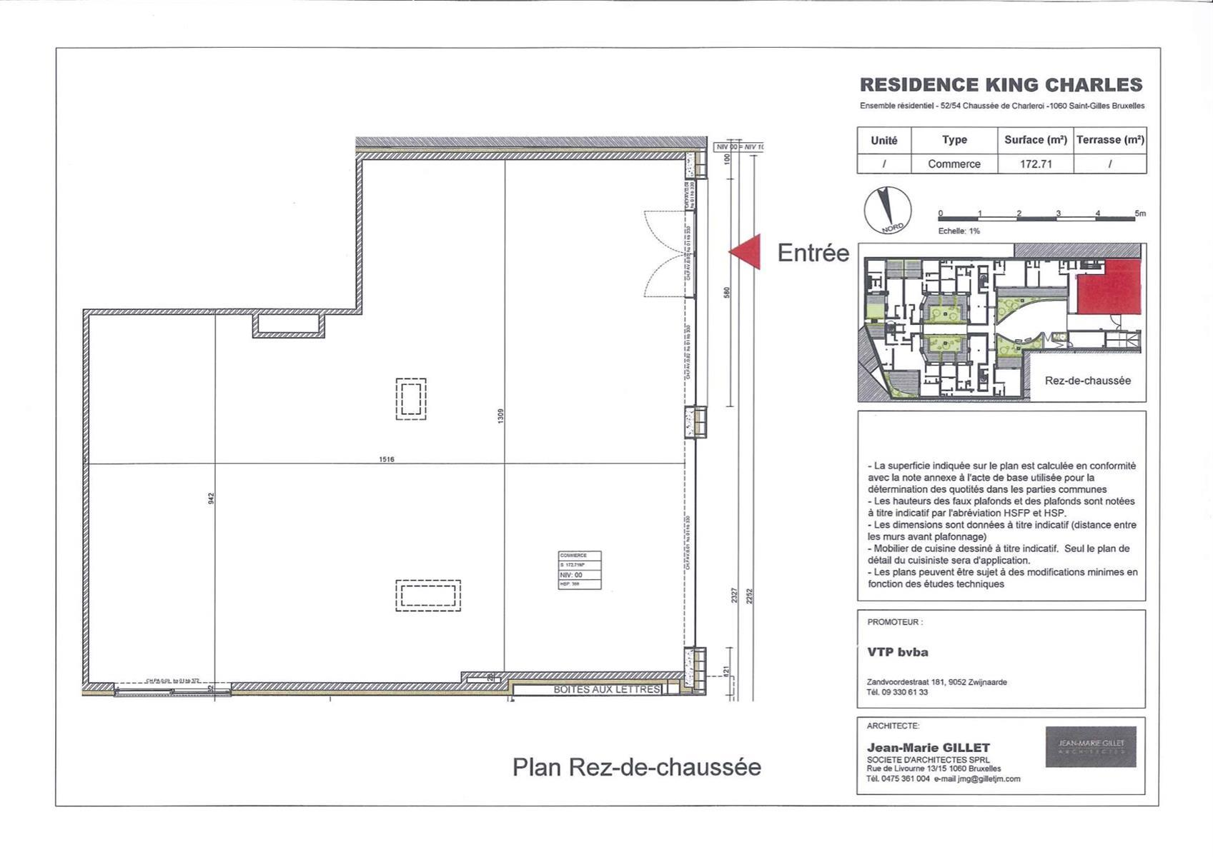 Individual shop - Saint-Gilles - #3999446-0