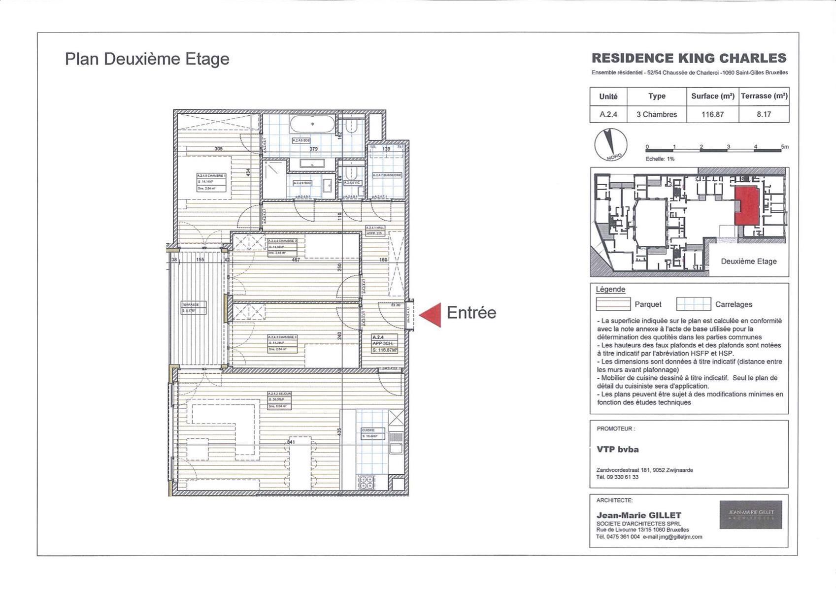 Appartement - Saint-Gilles - #3999457-0