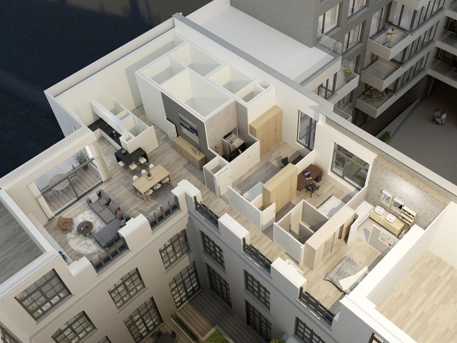 Appartement - Saint-Gilles - #3999464-5