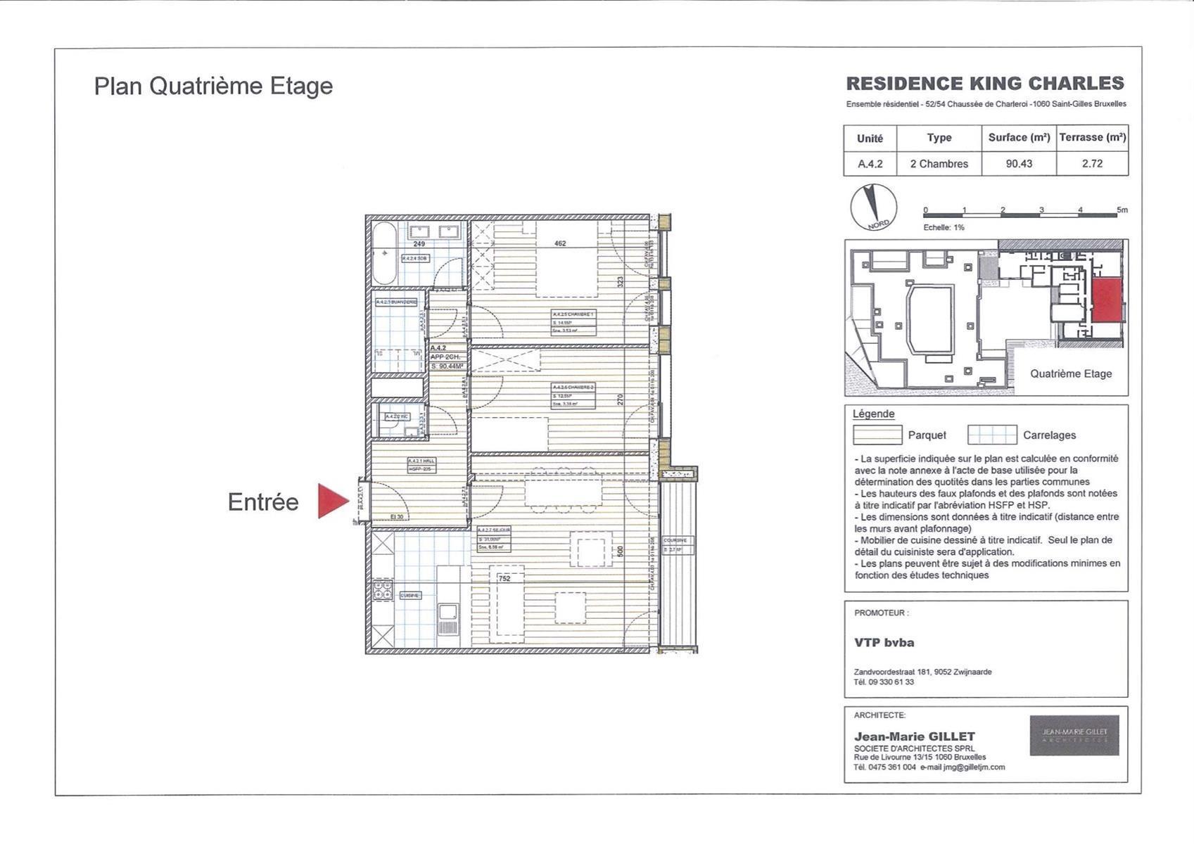 Appartement - Saint-Gilles - #3999465-0