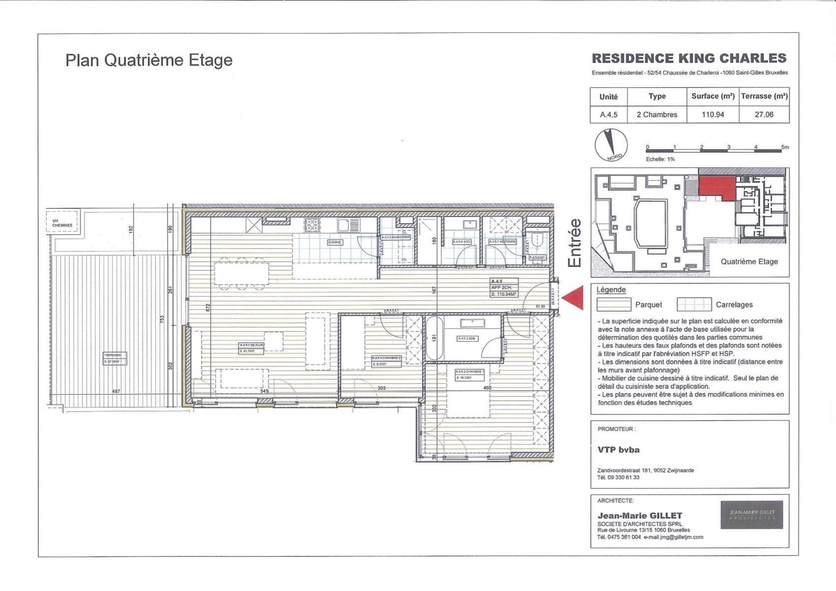 Appartement - Saint-Gilles - #3999468-0
