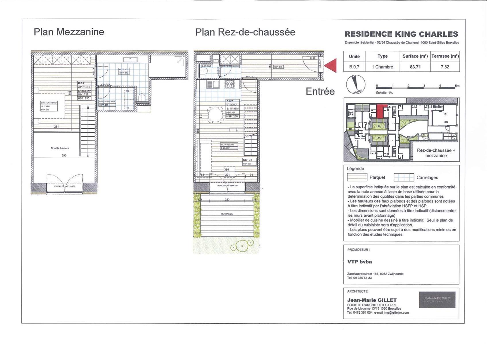 Studio - Saint-Gilles - #3999474-0