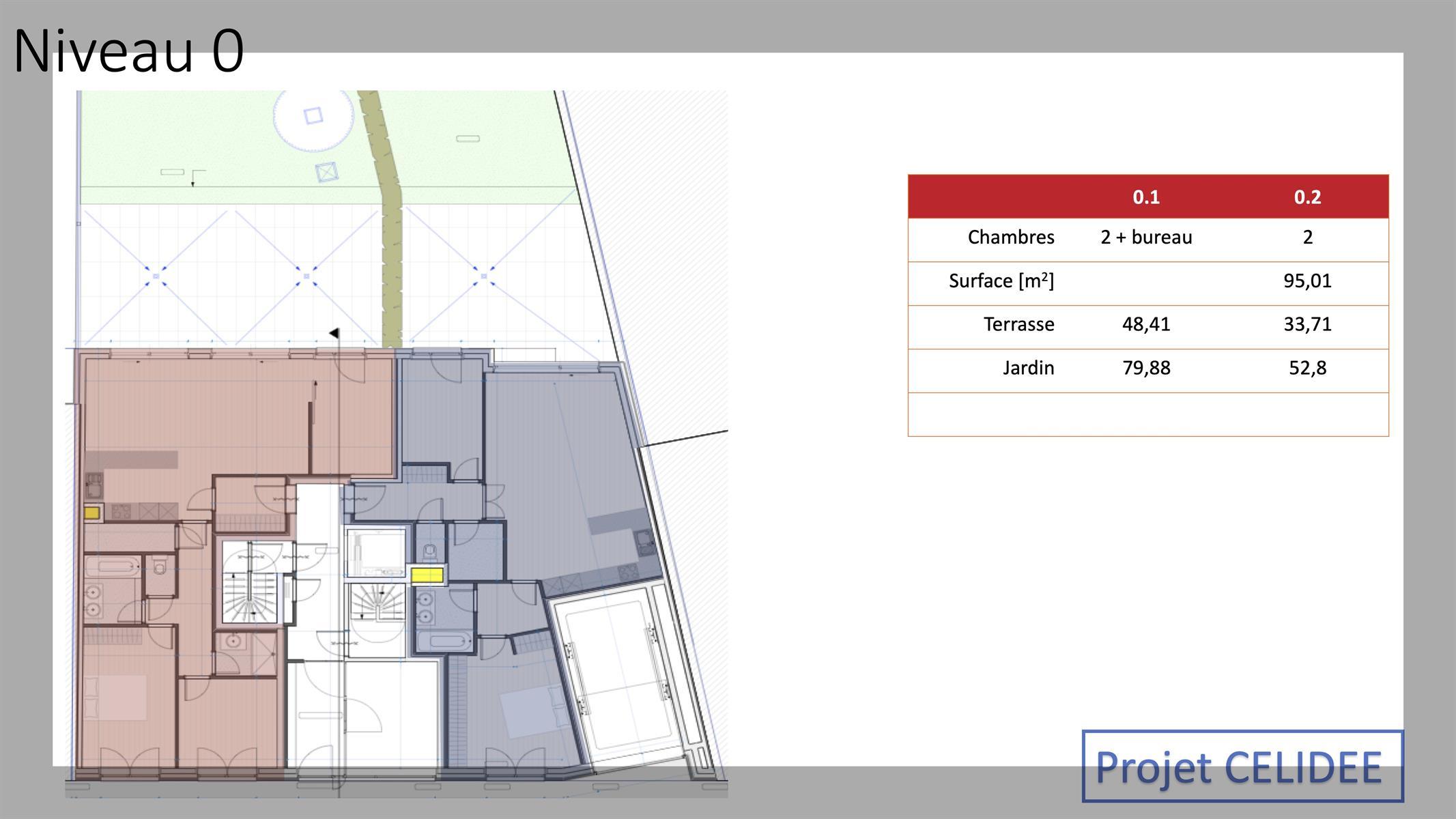 Ground floor with garden - Molenbeek-Saint-Jean - #4146203-4